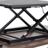 Height Adjustable Gas Spring Laptop Desk with Single Motor