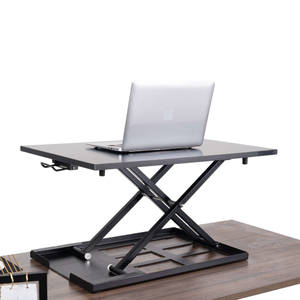 Height Adjustable Gas Spring Desk with Desktop