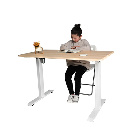 Single Motor Folding Structure Height Adjustable Standing Desk